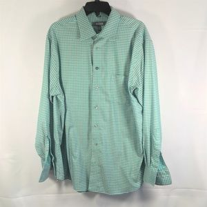 Kenneth Cole Reaction Long Sleeve Button Up Shirt